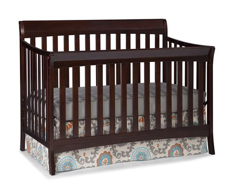 Storkcraft Espresso Crib by Storkcraft Avalon 4 In 1 Convertible Crib Espresso