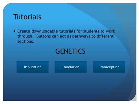 genetics tutorial powerpoint powerpoint for formative assessment and game design