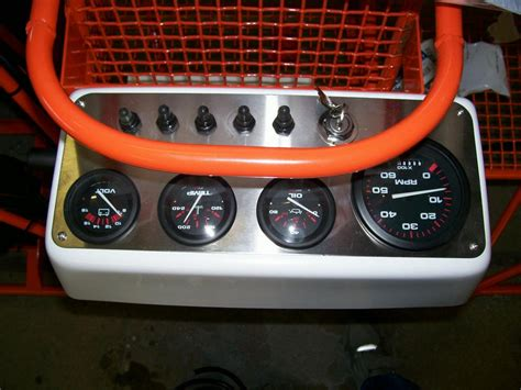 airboat gauge console mini airboat association