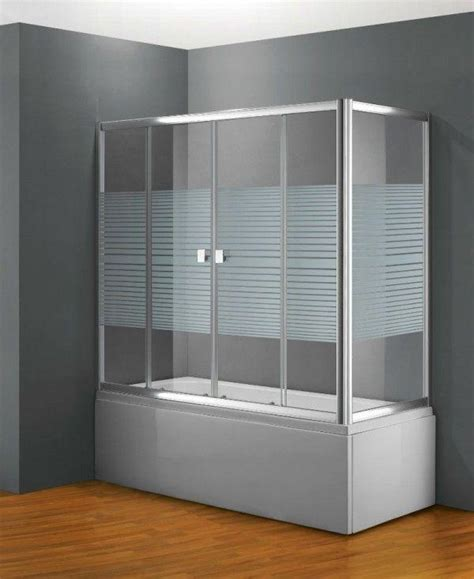 baignoire avec porte pas cher paroi de baignoire coulissante frontale en verre pas cher