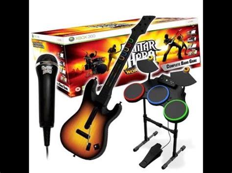 guitar tutorial xbox demostra 231 227 o bateria guitar hero xbox 360 pt br youtube