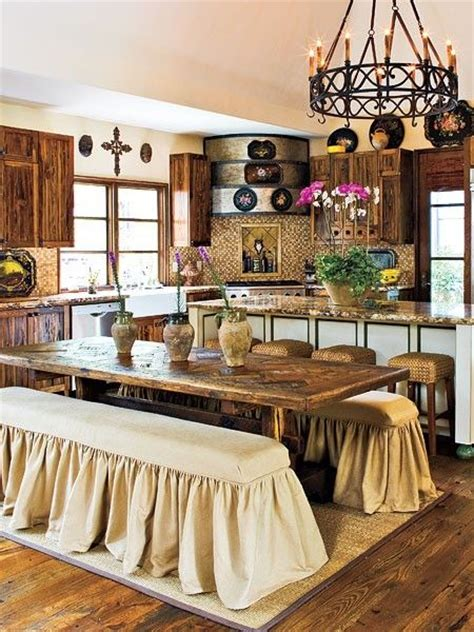 french country style kitchen table dream home kitchen