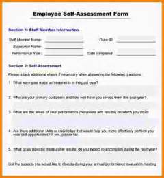 Resume Worksheet by 2 Employee Self Evaluation Examples Nypd Resume