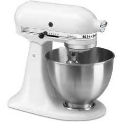 kitchenaid mixer ultra power stand mixer 4 5 quart white