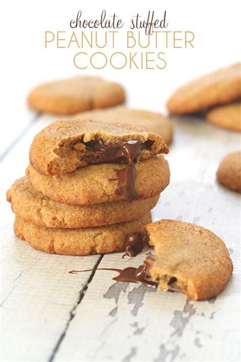 Peanut Butter Cokkies Ketofy chocolate stuffed peanut butter cookies peanut butter cookies and trends