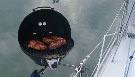 grill on a pontoon boat grilling recipes on a boat pontoon or otherwise