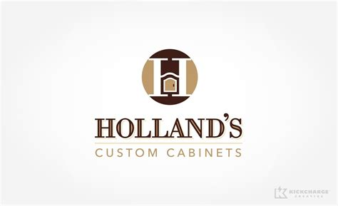 kitchen cabinet logo holland s custom cabinets kickcharge creative