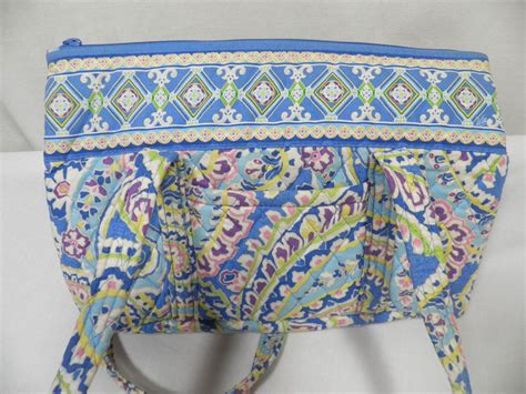 vera bradley pattern ink blue vera bradley capri blue retired pattern betsy tote handbag