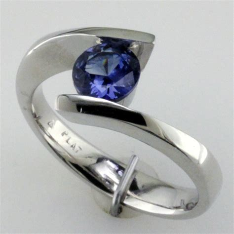 benitoite engagement ring mardon jewelers custom jewelry and gem industry