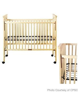 bassettbaby drop side cribs recalled parenting