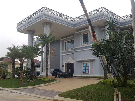 desain rumah mewah arsitektur contoh gambar rumah