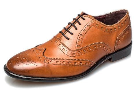 oxford shoes brogues brogues mens leather sole bucanon brogue oxford