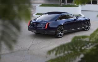 Cadillac G Official 2013 Cadillac Elmiraj Concept Gtspirit