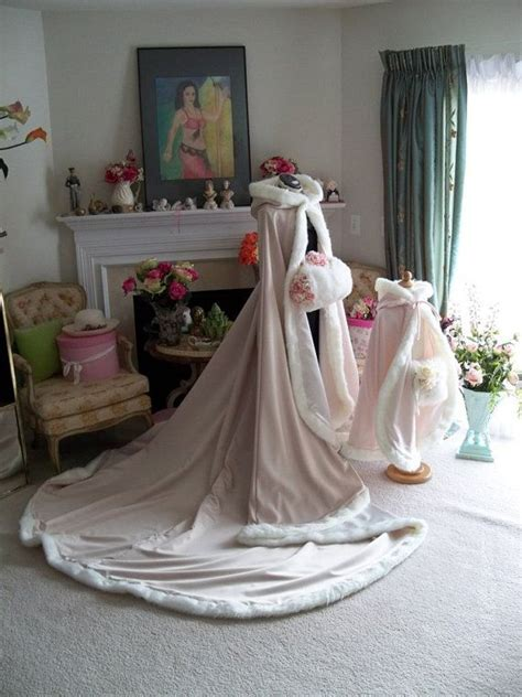 braut cape ivory sleeping beauty bridal cape chagne ivory satin 96