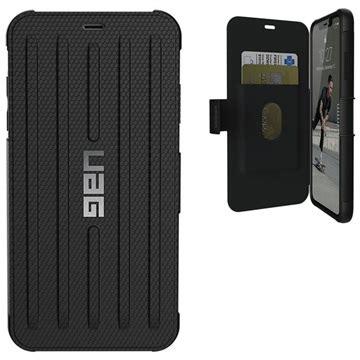 uag metropolis iphone xs max rugged wallet case black