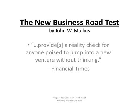 the new business road test what entrepreneurs and investors should do before launching a lean start up 5th edition books jump start reality check images