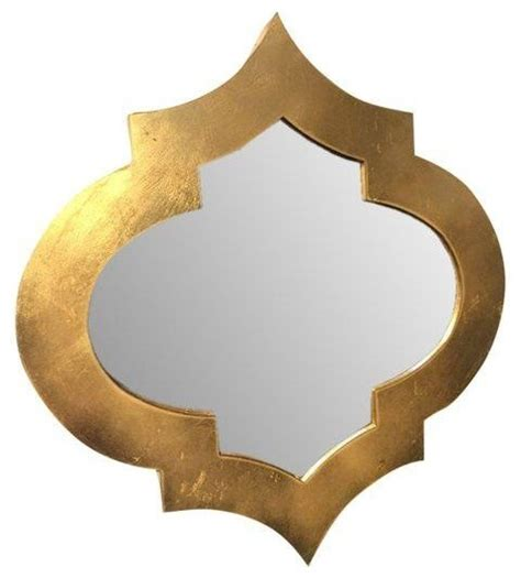 mckinley square home design gallery moroccan gold leaf quatrefoil mirror mediterranean