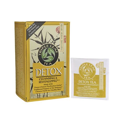 Tripple Leaf Detox Tea Sugar Cravings by Detox Tea 20 Bag S