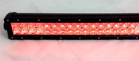 led light bar color changing rgb led light bar 50 quot 300w color changing led lights