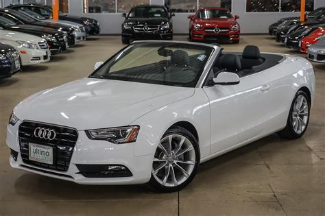Pre Owned Audi A5 used cars in stock warrenville naperville ultimo motors