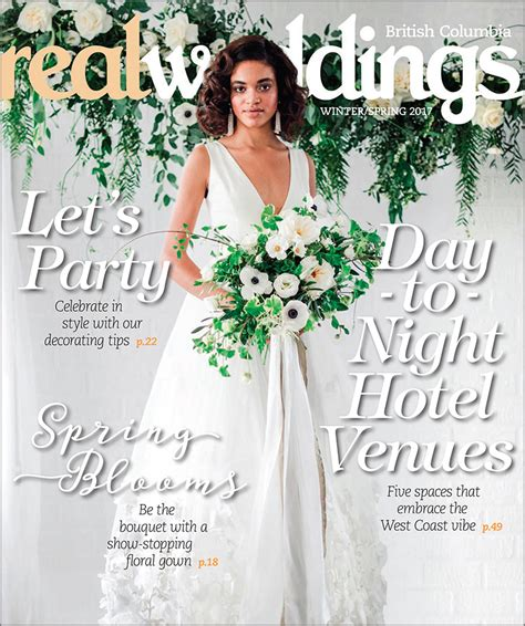 real weddings featured on bridal tribe magazines blog 27 miracles featured real weddings magazine vancouver wedding
