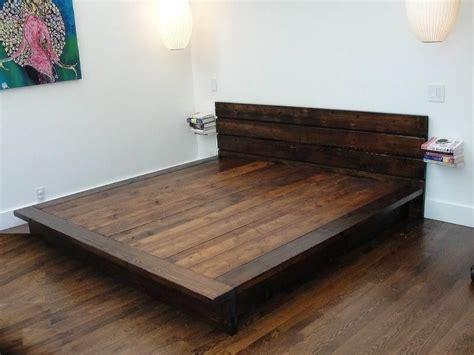 diy king platform bed frame   diy platform bed