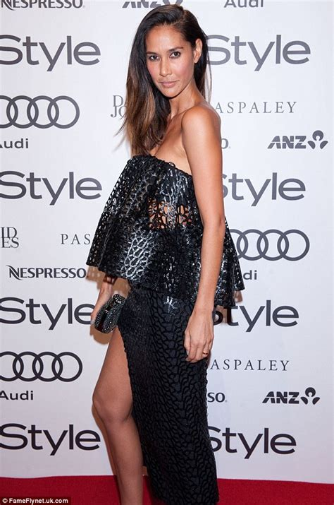 Michael Klim's wife Lindy shows off killer body at InStyle