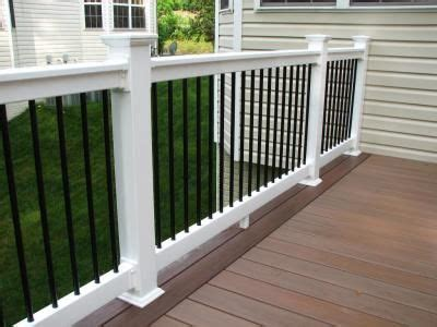 black banister white spindles hnh deck railings on pinterest deck railings railings and decks