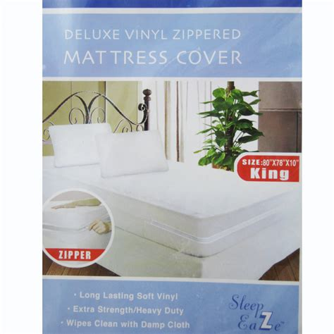 Zip Mattress Cover King Size by Deluxe King Size Zippered Mattress Cover Protector Dust