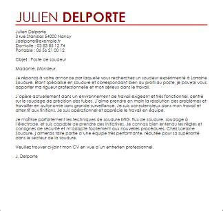 exemple du lettre de motivation exemple de lettre cv psco