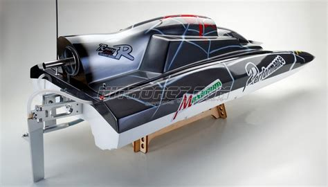 rc speed boat design exceed racing fiberglass spider 26cc gas powered artr