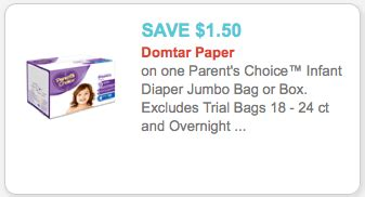 printable parent s choice diaper coupons diaper coupon 1 50 1 parent s choice diaper coupon