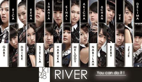 Photopack Pp Jkt48 River Rica Dhike popularitas senbatsu lagu member jkt48 jkt48 and quot nakiyuva quot oshimen