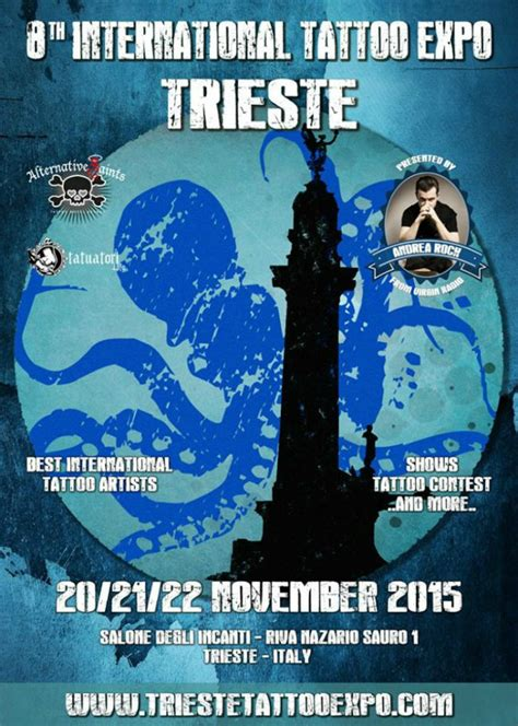 tattoo expo tickets trieste international tattoo expo november 2015