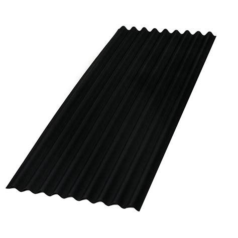 golfplaten monteren karwei aquaplan topline bitumen golfplaat 200x86 cm zwart