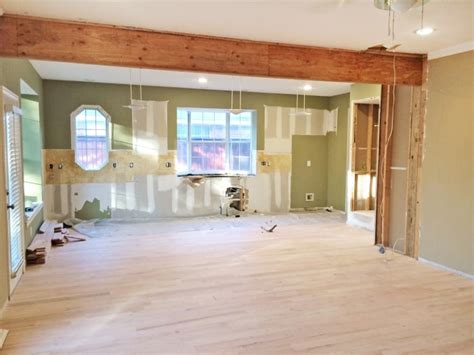 cost to remove load bearing wall home remodel modernizes kitchen angie s list