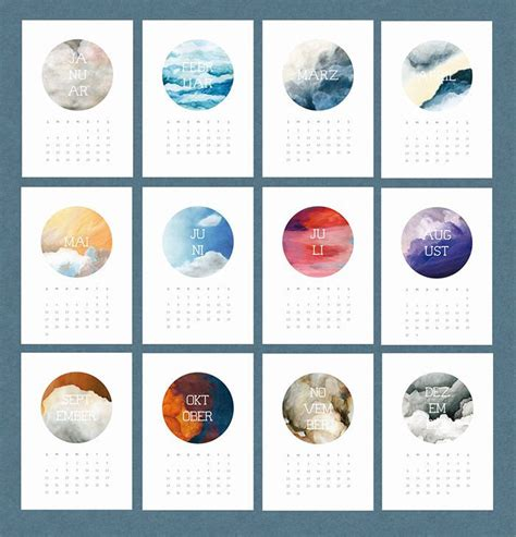 Calendar Layout The 25 Best Calendar Design Ideas On Graphic