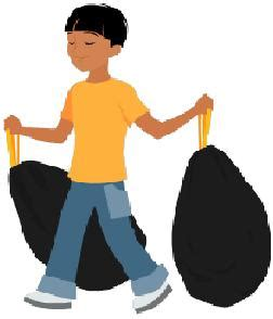 Taking Out The Trash With by Children And Chores From Tots To