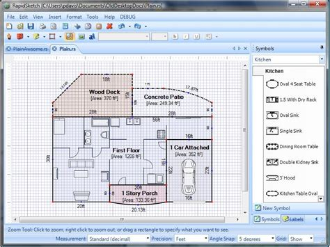area of a floor plan rapidsketch floor plan area calculator v2 3 shareware