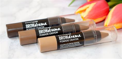 Maybelline Fashion Brow Pomade Crayon maybelline brow drama pomade crayon review archives the luxe list