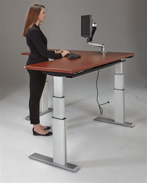 adjustable standing sitting desk best 20 adjustable height desk ideas on