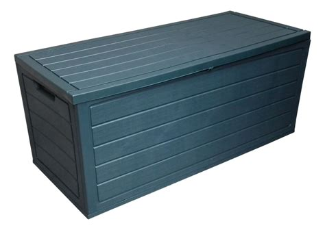 backyard storage box 250l garden plastic storage boxes w lid utility chest outdoor container shed ebay