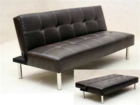 Bed Couches For Sale by 14 Day Money Back Guarantee Italian Leather 3 Seater