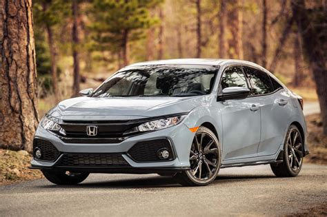Hatchback Honda by 2018 Honda Civic Hatchback Revealed With Turbocharged Engine