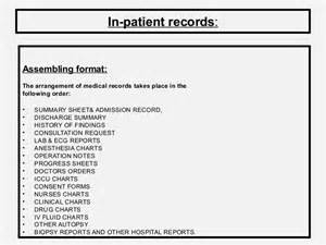 Psychiatric Report Template medical records role and its maintenance