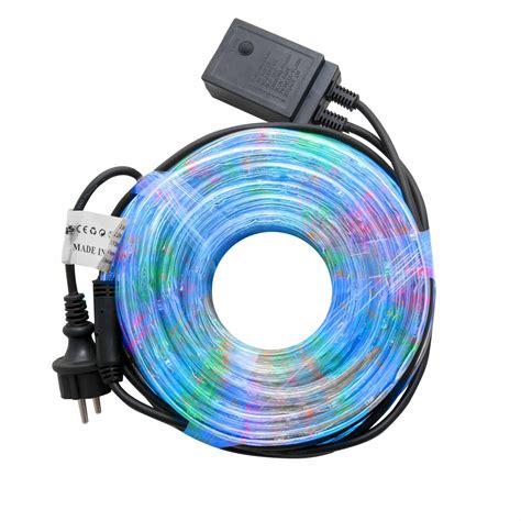 illuminazioni di natale per esterno tubo luminoso 10m di natale luce multicolor rgb led