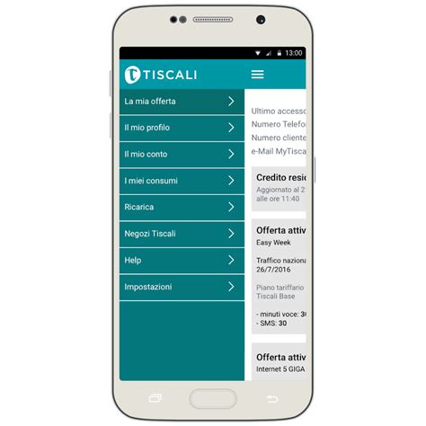 app tiscali mobile mytiscali app android su play