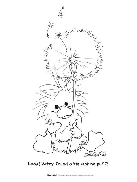 blowing dandelion coloring pages coloring coloring pages