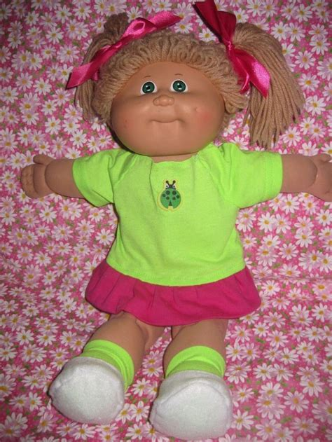 free knitting patterns for cabbage patch dolls clothes cabbage patch doll clothes lime green knit sleeve