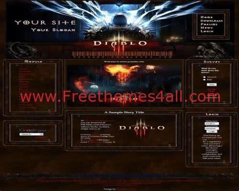 drupal themes clan free diablo 3 php nuke clan theme freethemes4all